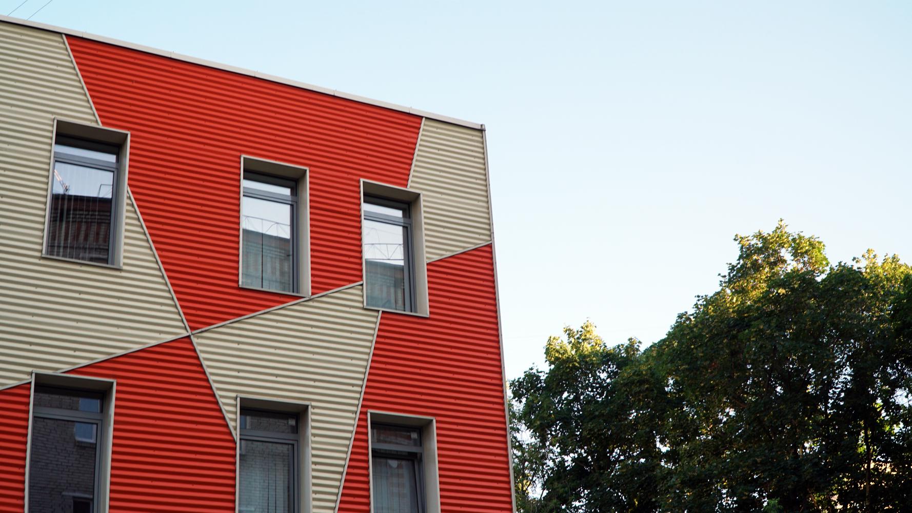 профнастил для фасада фото домов кроше это